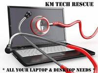 KM TECH RESCUE LAPTOP & DESKTOP REPAIRS