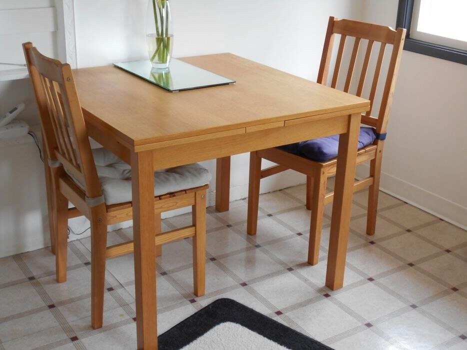 Ikea Kloffsta 2 To 6 Seat Extendable Dining Table Very Good