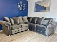 FACTORY-PACKED PLUSH CORNER SOFA AND 3+2 SOFA SET AVAILABLE