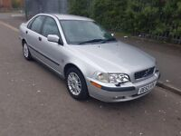 53 REG VOLVO S40 1.8 GAS /BIFUEL MOT OCT DRIVES WITHOUT FAULT £580 NO OFFERS