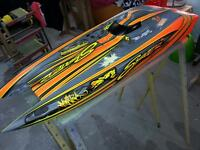One of a kind RC boat 29.5CC Expresscraft Thunderbolt