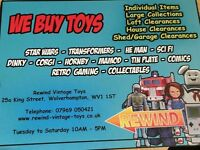 Cash 💰 for old/collectors toys/retro gaming