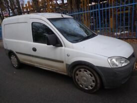2006 euro 4vauxhall combo 1.7 cdti diesel NO MOT good runner+heavy duty roofrack DRIVEAWAY/DELIVERY
