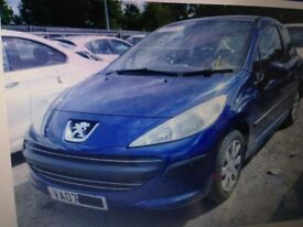 Peugeot 207 S 2007 1.4 HDI Diesel 8HZ - Wheel Bolt - Breaking For Spares Also