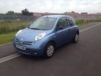 2007 57 Nissan Micra Initia 1.2 Petrol Manual Long Mot 2 lady Owners 51000 Miles