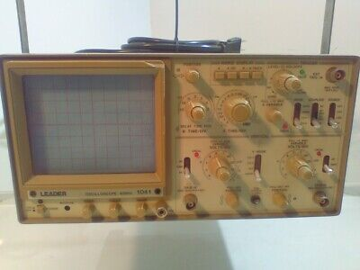 Leader 1041 Oscilloscope 40 Mhz U