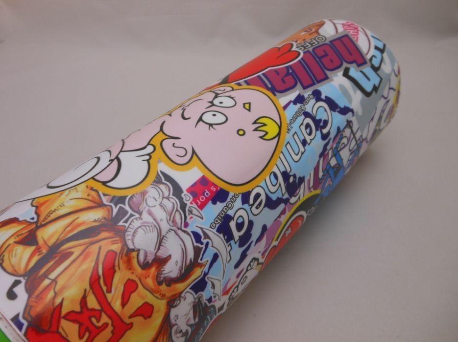 """12"""" X 60"""" Jdm Cartoon Hellaflush Sticker Bomb Vinyl Wrap ..."""