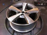 Alloy Wheel Refinishing, Repair and Painting Alloy Rims