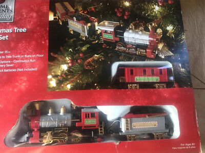 Home accents holiday Christmas tree train set 9 foot track