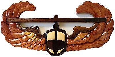 AIR ASSAULT EMBLEM - ARMY PLAQUE - Handcrafted Wood Art Military Plaque - Handcrafted Wood Plaque