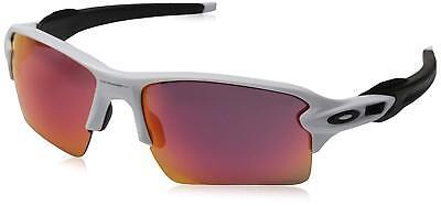 Oakley Flak 2.0 XL OO9188-03 Sunglasses Polished White Prizm Field Lens 9188 03