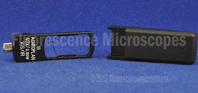 Zeiss Microscope Dic Slider 444451 For Acpl 40x0.80 W Iii Visir Objective