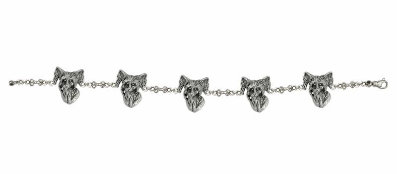 Chinese Crested Bracelet Jewelry Sterling Silver Handmade Dog Bracelet CC1-BR