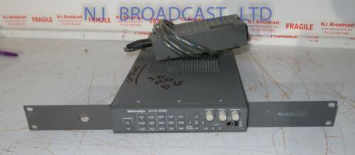 Tektronix wvr5000 HDSDI / SDI rasterizer with audio and HD option  with PSU