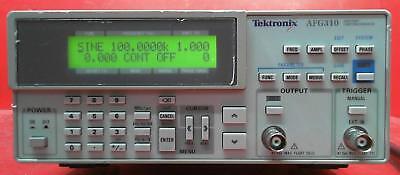 Tektronix Afg310 Arbitrary Function Generator Snj315341