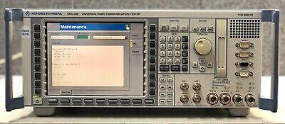 Rohde Schwarz Cmu200 Universal Radio Communication Tester