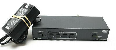 Extron MMX 42 AV 4x2 Composite Video & Stereo Audio Matrix Switcher Av Matrix Switcher