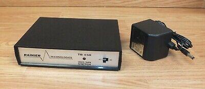 Rainier Technologies Tv Phone Fax Aux Phone Line Voice Data Switch Tb-150