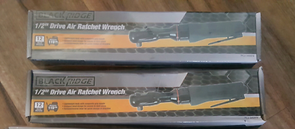 Blackridge 1/2 drive Air Ratchet Wrench x2