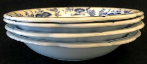 International Tableworks Blue Rhapsody Bowls (4)  Retired (Blue Danube)