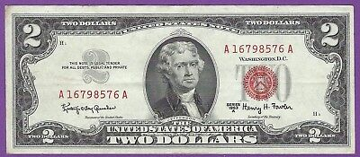 2 00 United States Note   1963   Granahan Dillon   A16798576a