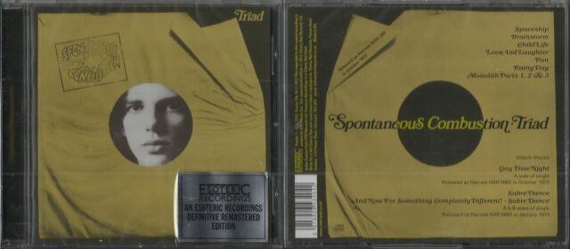 SPONTANEOUS COMBUSTION - TRIAD-CD 1972-progressiv Rock+ bonus tracks-cherry red