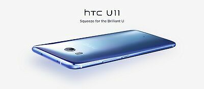 "New *UNOPENED* HTC U11 5.5"" Global Super LCD5 Samartphone/Brilliant Black/32GB"
