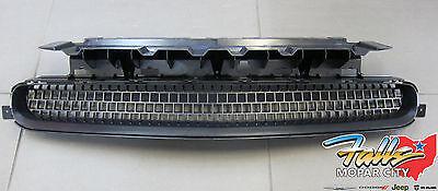 2011-2014 Dodge Challenger Black Front Lower Grille Trim Bezel Mopar OEM