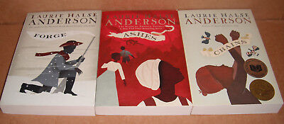 The Seeds of America Trilogy Set: Chains/Forge/Ashes by Laurie Halse Anderson