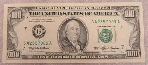 1993 $100 Federal Reserve Note * Old Hundred Dollar Bill