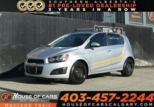 2013 Chevrolet Sonic LT Manual, FWD Sedan