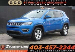2018 Jeep Compass North/Hands-free calling / Leather Seats/AWD