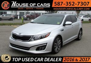 2014 Kia Optima SX  Turbo / Leather / Sunroof / Back up Camera