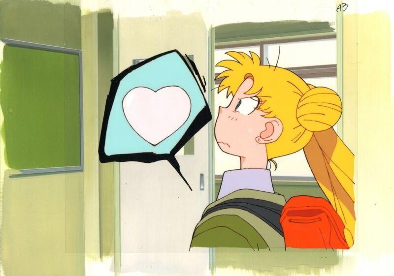 Anime Cel Sailor Moon #1256