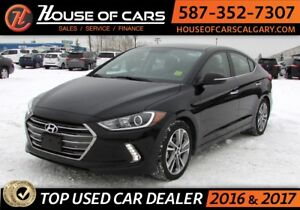 2017 Hyundai Elantra Limited / Leather/ B. Cam/ Sunroof