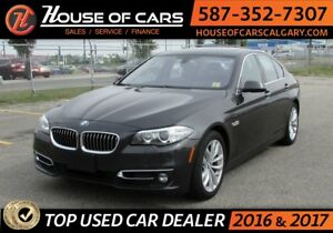 2016 BMW 5-Series 528i xDrive / Leather / Sun Roof / Back up Cam