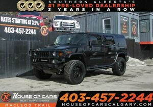 2004 Hummer H2 Sunroof/ Bluetooth/ Leather Seats/ AWD