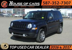 2017 Jeep Patriot HIGH ALTITUDE 4WD / Leather / Sunroof