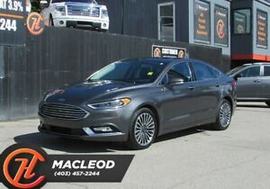 2017 Ford Fusion SE / Navi/ Leather Seats / Back up Camera AWD