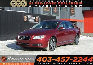 2011 Volvo S80 T6 Level 2 Leather / Heated seats/ Sunrood, AWD