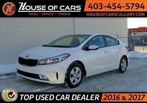 2017 Kia Forte LX + w/ heated seats, Backup cam. APPLY TODAY DRI