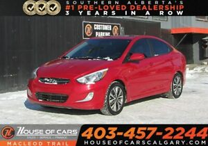 2016 Hyundai Accent GLS/ Sunroof/ Heated Seats/ Bluetooth/ FWD