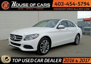 2016 Mercedes C300 4 Matic Loaded APPLY TODAY DRIVE TODAY!!