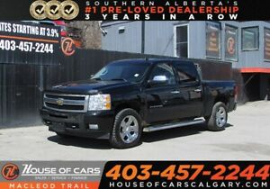 2011 Chevrolet Silverado 1500 LTZ,Bluetooth,Sunroof,AWD 4x4