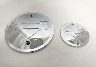 RF Custom Shadow Derby Cam Cover set Chrome ALL 03-up Victory Models 2881748