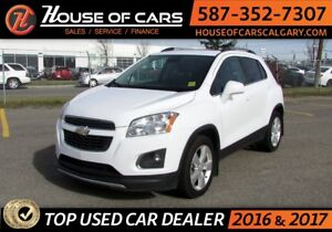 2013 Chevrolet Trax LTZ/ AWD / Leather / Back up Camera / Sunroo