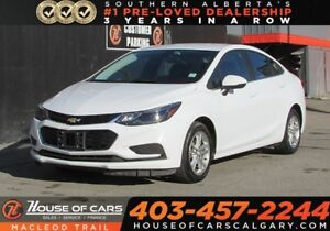 2017 Chevrolet Cruze LT Auto/ Heated seats / Back up camera FWD