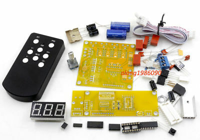 DIY PGA2311U preamp remote volume control preamplifier kit with 4 way in   L3-46