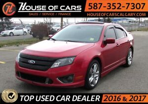 2011 Ford Fusion Sport / AWD / Leather