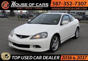 2006 Acura RSX / Leather / Sunroof Type-S